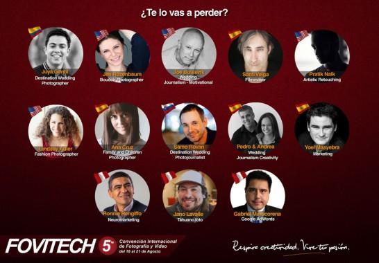 Fovitech 2015, Lima, Peru: August 16-21, 2015