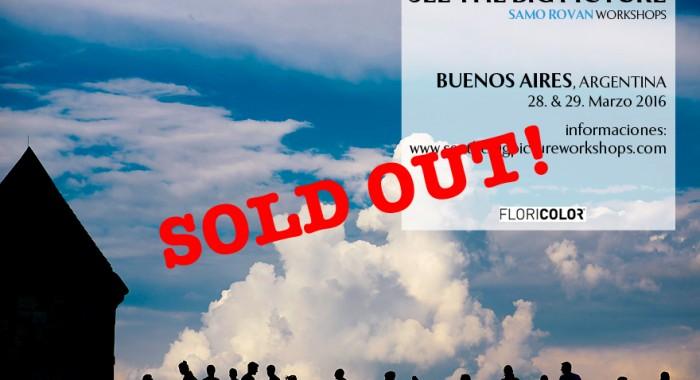 Workshop Buenos Aires 2016, Argentina: Marzo 28-29, 2016