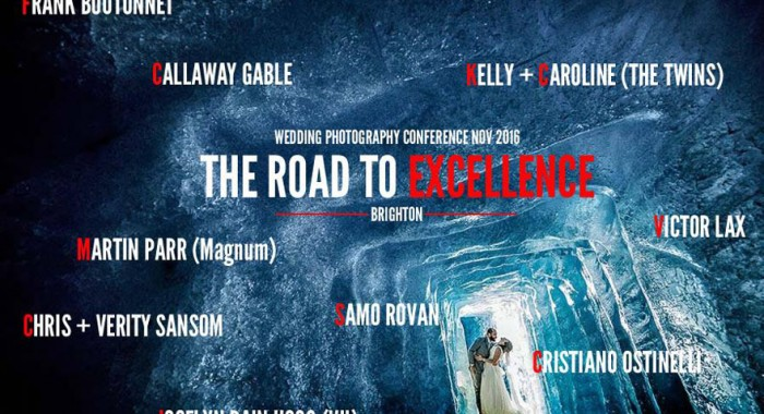 The Road To Excellence Photography Conference 2016, Brighton, UK: November 8-9, 2016